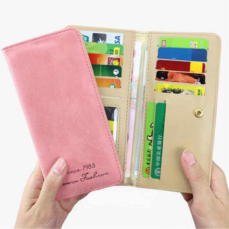 PASANNE женский кошелек держатель для карт повседневные женские стандартные кошельки модные длинные женские кошельки Кошелек для студента ключи