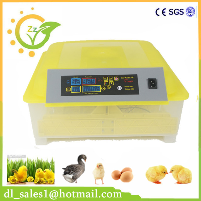 1 Piece Best Price Automatic Small Egg Incubator 48 Eggs Commercial Household Intelligent Large Capacity Incubator Brooder