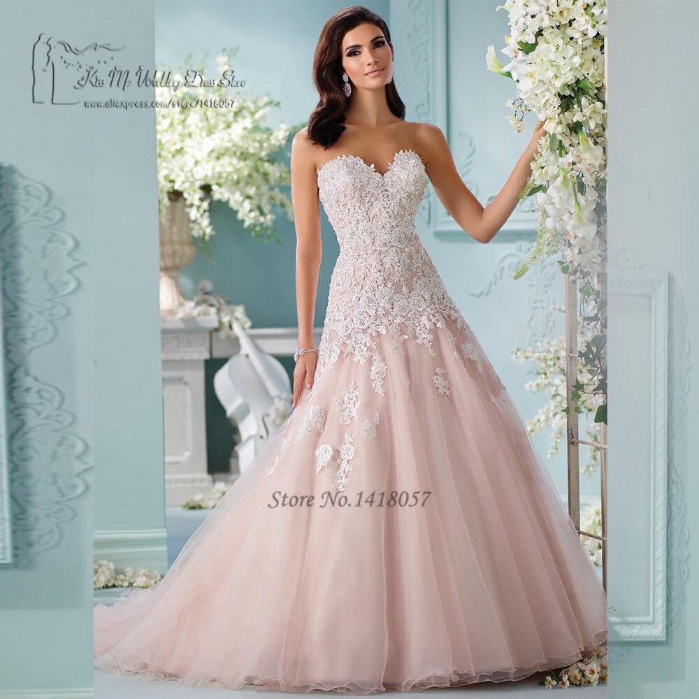 Blush Low Back Wedding Dress : Popular blush pink wedding dresses buy cheap