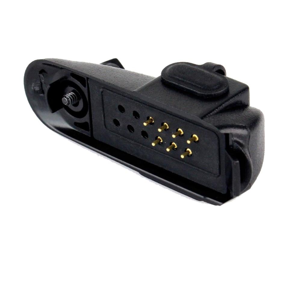 2pin Jack 3.5mm/2.5mm Audio Adapter For Motorola GP328 GP340 PTX760 PRO5150 To GP300 GP88S Ham Radio Walkie Talkie J6226A