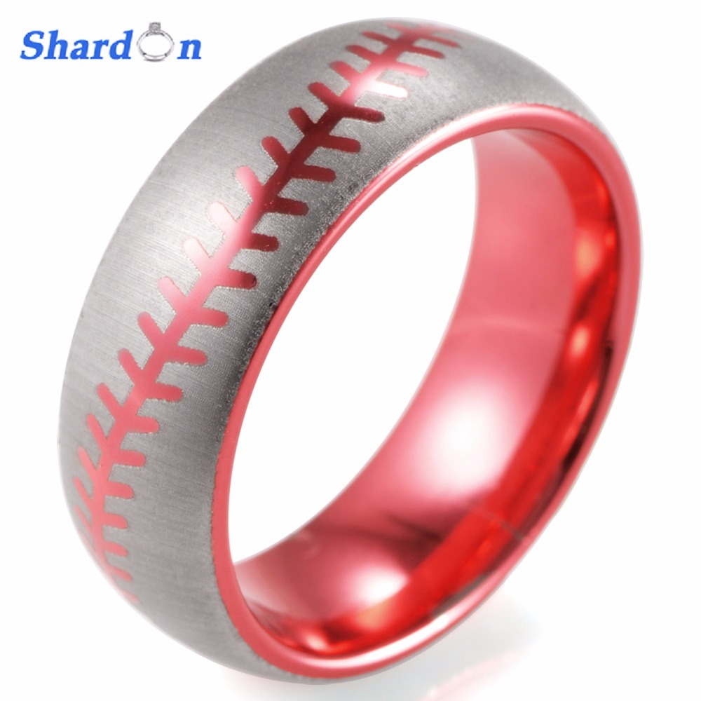 SHARDON Engagement Rings 8mm surface width jewelry fashion rings for ...