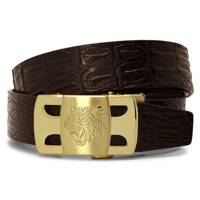 Men ACCESSORIES Genuine leather cowskin belt for men 1