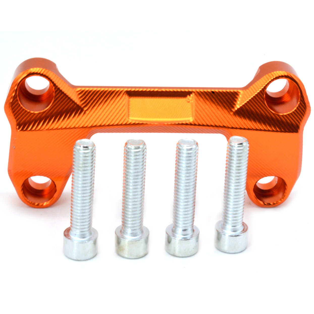 Motorcycle Handlebar Riser Handle Bar Riser Clamp For CNC Aluminum Accessories Orange Black For KTM Duke 125 200 300