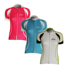 New Women's Cycling Jersey Bike Bicycle Comfortable Outdoor Ladies Shirts 3 Color
