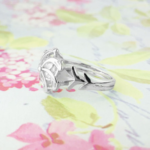 Image 4 - 925 סטרלינג כסף הלורד של טבעות Nenya גלדריאל טבעת של מים LOTR Elf טבעות נהדר טבעות ההוביט תכשיטי נשים אוהד מתנה