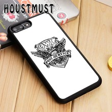 HOUSTMUST Twin Peaks Owl Case cover For iPhone 5 5S SE 6 6S 7 8 X XR XS max Samsung galaxy S5 S6 S7 edge S8 S9 Plus Note 8(China)