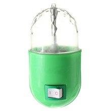 3W Magic Ball Rotating RGB LED Lamp Stage Lighting Effect Light DJ Disco Party Gift Bulb AC85-265V US Plug