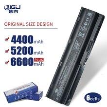JIGU 6 komórki bateria do hp Pavilion DM4 DM4T DV3 Dv7 2100 G4 G6 G7 G62 G62T G72 MU06 HSTNN UBOW Presario CQ42 CQ56 CQ62