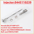 Common Rail injetor комплекты для ремонта сопло DLLA149P1471  F00VC01315 для Ford 0445110239