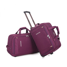 цены Fashion Women Trolley Luggage Rolling Suitcase Brand Casual Thickening Rolling Case Travel Bag on Wheels Luggage Suitcase cabin