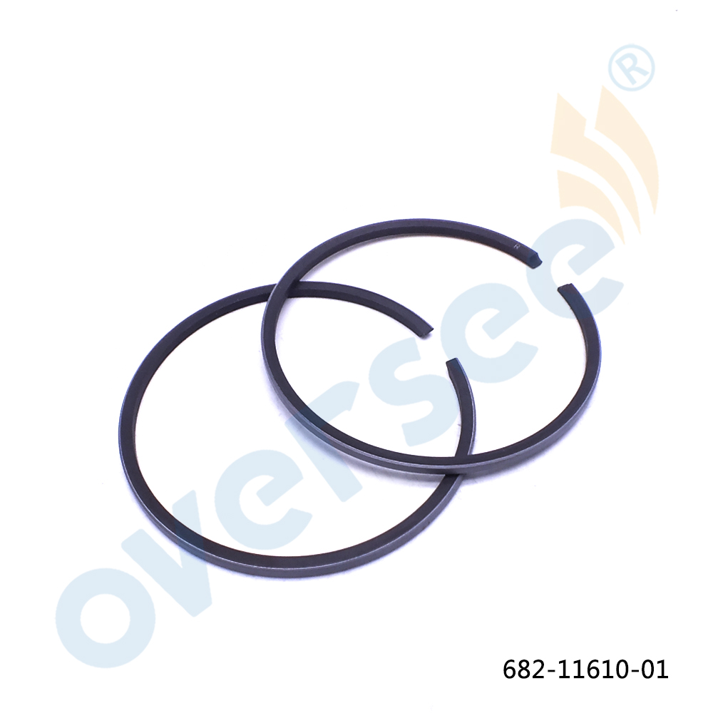 682-11610-01-00 Piston Ring Set (STD) For Yamaha Parsun Powetec 9.9HP 15HP 63V Outboard Engine Boat Motor Part 682-11610