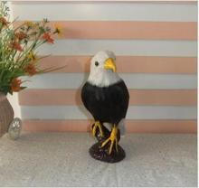 WYZHY simulation eagle model film and television photo props simulation feather table model decoration   21CM X 12CM