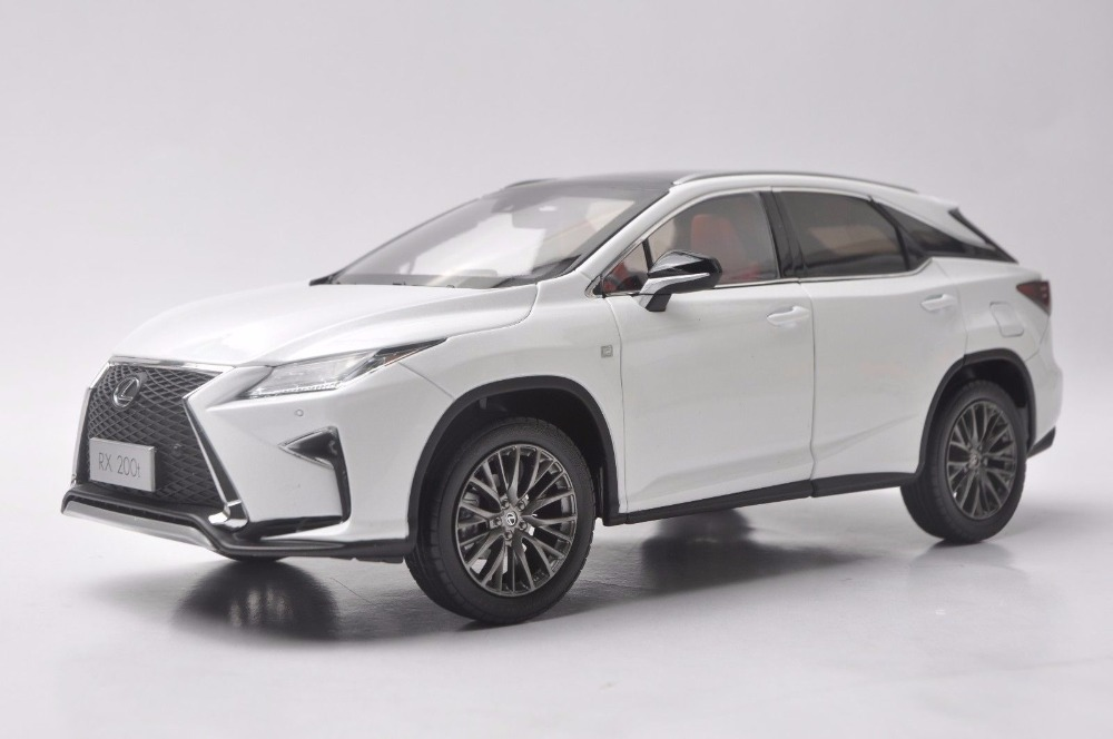 1:18 Diecast Model for Lexus RX 200t 2016 SUV Alloy Toy Car Miniature Collection Gift RX200t RX200 Toyota white 1 18 scale lexus rx200t rx 200t suv luxury collection diecast model car aluminum