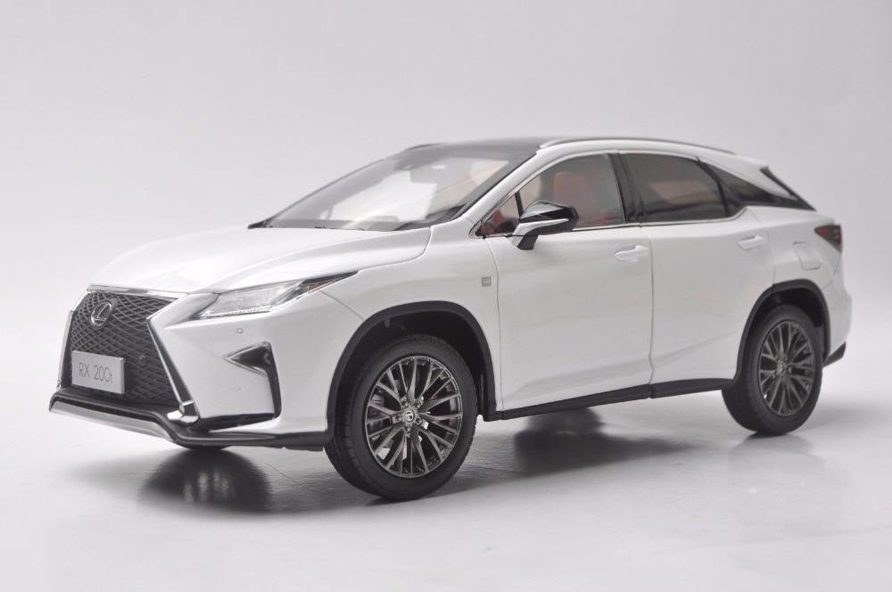 1:18 Diecast Modelo para Lexus RX 200 t 2016 Liga SUV Carro de Brinquedo Em Miniatura Presente Coleção RX200t RX200 Toyota