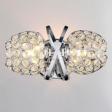 Simple Artistic LED Crystal Wall Lamp Light Modern With 2 Lights Wall Sconce Arandelas Wandlamp dj микшеры gemini ps4 dj