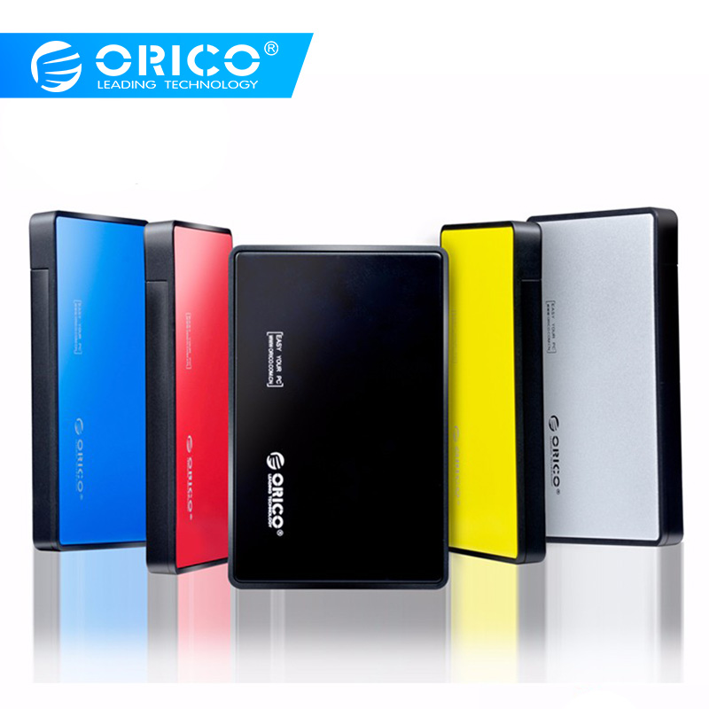 ORICO Tool-free 2.5 Inch USB 3.0 Hard Drive Disk HDD External Enclosure Case For 9.5mm 7mm 2.5