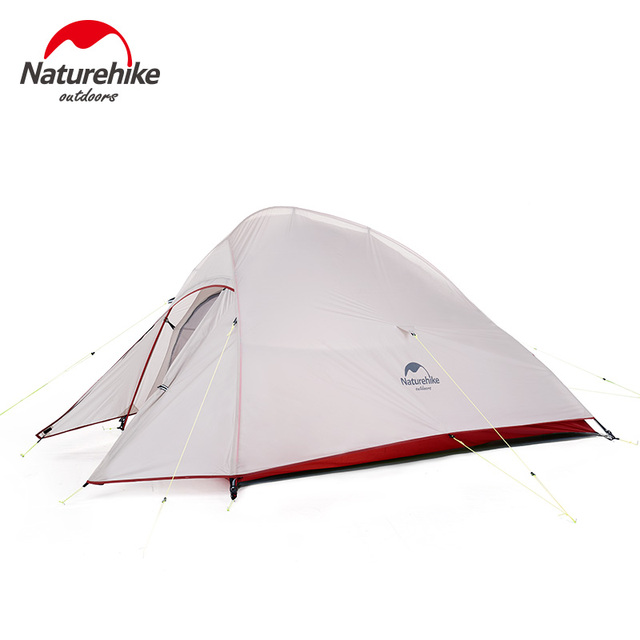 NEW Naturehike 1 2 3 Person Tourist tTent Ultralight Four Seasons 20D Silicone Winter Outdoor Camping Tent Waterproof NH18T030-T