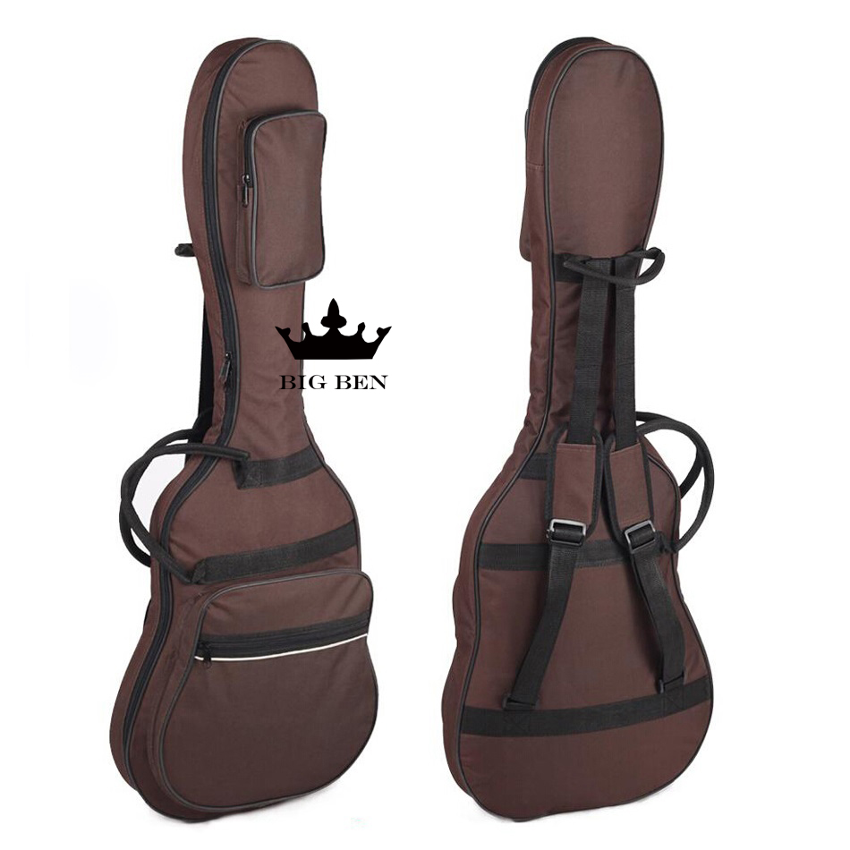 ФОТО Freight free water-proof Oxford cloth electric bass bag contracted electric guitar bag universal electric bag bass backpack