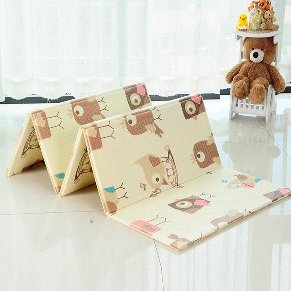 Pliable bébé tapis de jeu épaissi mousse infantile tapis bébé chambre Puzzle tapis enfant jouets éducatifs 150X200 CM