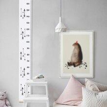 Водостойкая настенная вешалка для измерения высоты, график роста детей, настенная татуировка для декора детской комнаты FP8