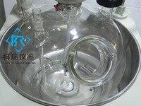 50L 높은 붕규산 GG3.3 싱글 레이어 유리 반응 용기