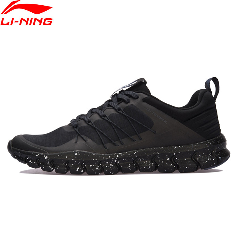 Li-Ning Men 24H Training Shoes Light Wearable LiNing Sports Shoes Breathable Anti-Slip Sneakers AFHM027 YXX019 li ning brand men basketball shoes sonicv series professional camouflage sneakers support lining breathable sports shoes abam019