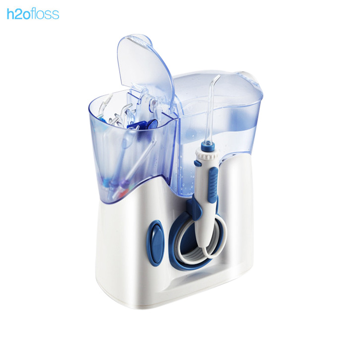 h2ofloss hf-8 Oral Irrigator Teeth Cleaning Machine Dental Water Flosser Water Jet Floss h2ofloss electric oral irrigator jet teeth waterflosser dental shower cleaning machine dental water flosser teeth whitening tool