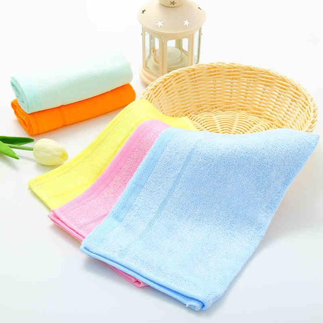 Microfiber towel toalha de banho de bambu toalhas de banho infantil do bebê recém-nascido pequeno toalha de rosto do bebê crianças bath towel crianças 5 carregado 50a050