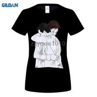GILDAN Ian Mickey Shameless T Shirt Women Cotton Short Sleeve Funny Printed T Shirt Hip Hop