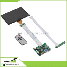 7 Inch 1024*600 IPS Screen Display LCD TFT Monitor EJ070NA-01J with Remote Driver Control Board 2AV HDMI VGA for Raspberry Pi