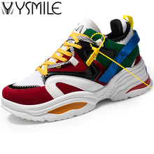 Купить с кэшбэком Brand Thick Sole Men Running Shoes Black Superstar Sneakers Outdoor Male Sports Shoes Outdoor Men Boys Walking Shoes Run Rubber