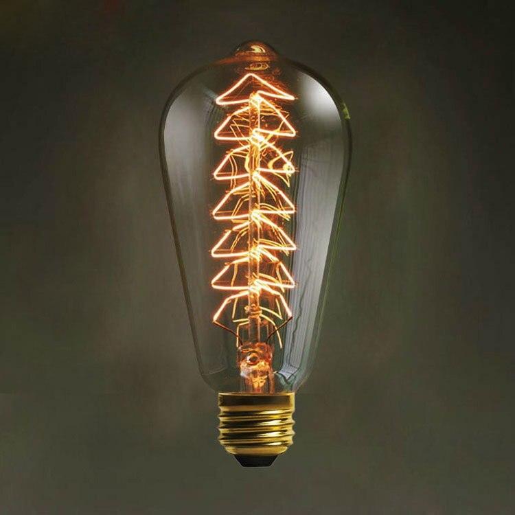 LightInBox Chevet Salle D'étude Cuisine T45 E27 AC 110 V/220 V À Incandescence Vintage Edison Ampoule