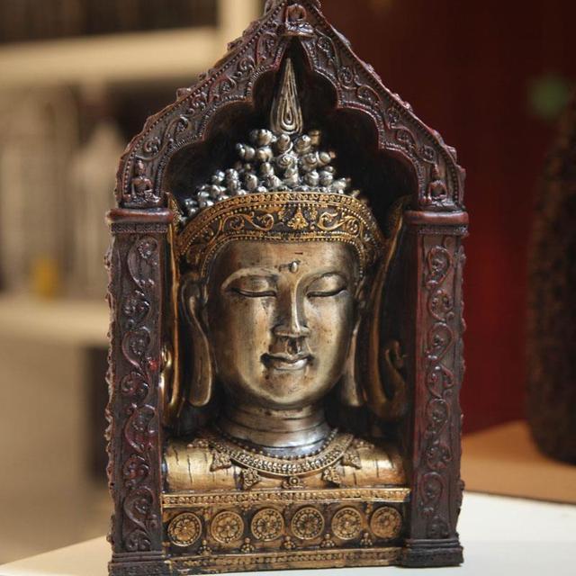 Sud Est Asiatique Style, Arts Et Artisanat, Bouddha Statue