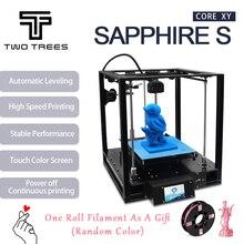 Два дерева 3D Принтер Высокоточный сапфир S CoreXY автоматическое выравнивание алюминиевый профиль рамка DIY Набор для печати Core XY структура