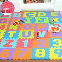 36pcs Baby Floor Foam Puzzle Mat Crawling Play Pad Carpet YH-17 36pcs baby floor foam puzzle mat crawling play pad carpet yh 17