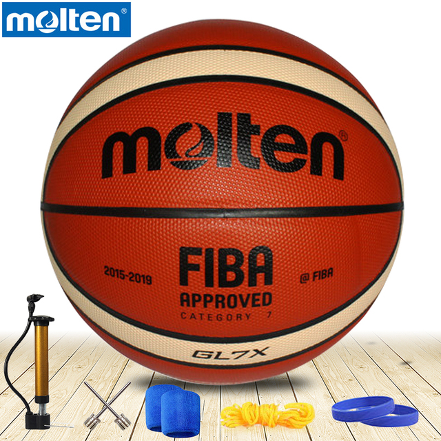 original molten basketball ball GL7 GL7X NEW Brand High Quality Genuine  Molten leather Material Official Size7 Basketball a64863066