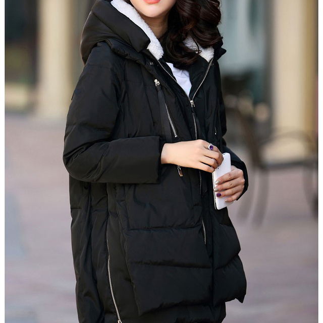 Maternidad Abrigo de Invierno! 2014 Venta Caliente! Ropa Para Mujeres Embarazadas Moda sólido Espesar Abajo Abrigo de Invierno Prendas De Maternidad Abrigo