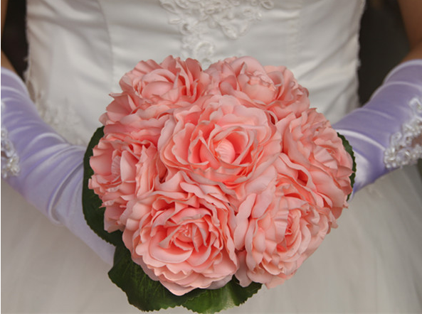 Camellia holding flowers bouquets Artificial bride hand tie flowers Wedding with flowers