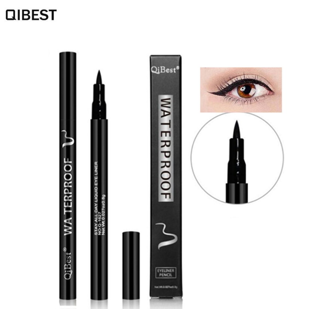 Manooby Hottest Color Liquid Eye Liner Pen Long Lasting Waterproof Beauty Tool Eyeliner Pencil Makeup Cosmetics Women Dropship Beauty & Health