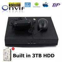 Network Video Recorder CCTV 8CH Full HD H 264 NVR Standalone Super Mini NVR 1080P HDMI