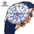 OCHSTIN спортивные часы для мужчин Топ бренд Авто Дата силиконовый ремешок Кварцевые военные наручные часы мужские водонепроницаемые часы ...