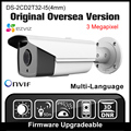 Ds-2cd2t32-i5 hikvision 4mm versión de ultramar original 3mp cámara ip ipc Onvif P2P POE H265 de Cámaras de Seguridad CCTV Cámara HD HIK IP