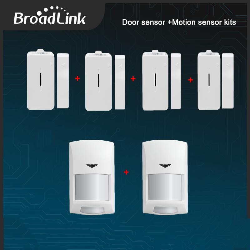 Prix pour Nouveau Broadlink S1c Accessoires Seul Capteur SmartONE Maison Intelligente Capteur Contorls dans Capteurs Connectés Par IOS et Android