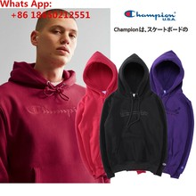 11e923b9045b 2019 Authentic Champion Embroidered Logo Men s Women s Hoodies Sweater  Pullover Adults Sweatshirt ...