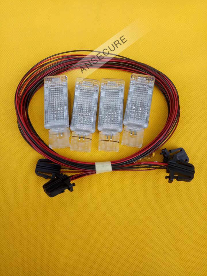 Свет для ног интерьерные светильники для VW Golf 6 Jetta MK5 MK6 Tiguan Passat B6 5ND 947 415 7L0 947 415