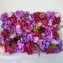 Artificial Hydrangea Peony Rose Floral 3D Wedding Flower Wall Panels for Stage or Backdrop Planning Wedding Event Decorations douglas dominique wedding planning for dummies isbn 9781118699485