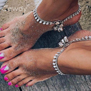 Jewdy Chain Ankle Bracelet Anklet Sandals Beach Foot
