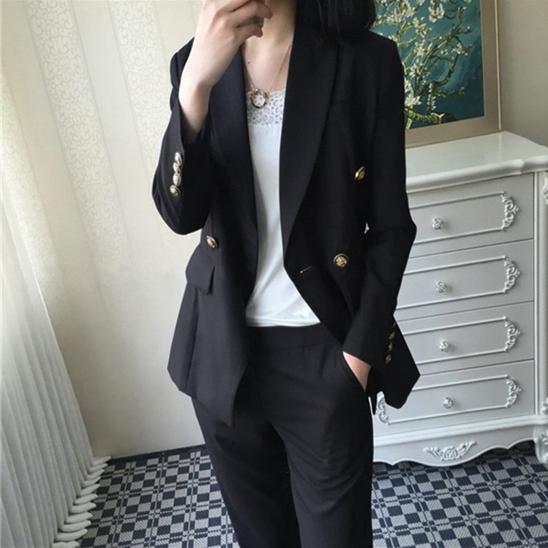 New Arrival Office Fashion Comfortable Suit And Simple Pant Wild Work Style High Quality Trend Plus Size Comfortable Pant Suits