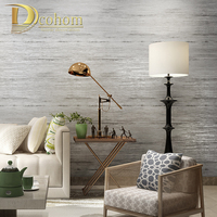 Modern Minimalist Solid Color Wallpaper Non Woven Striped Living Room TV Background Home Decoration Wall Paper