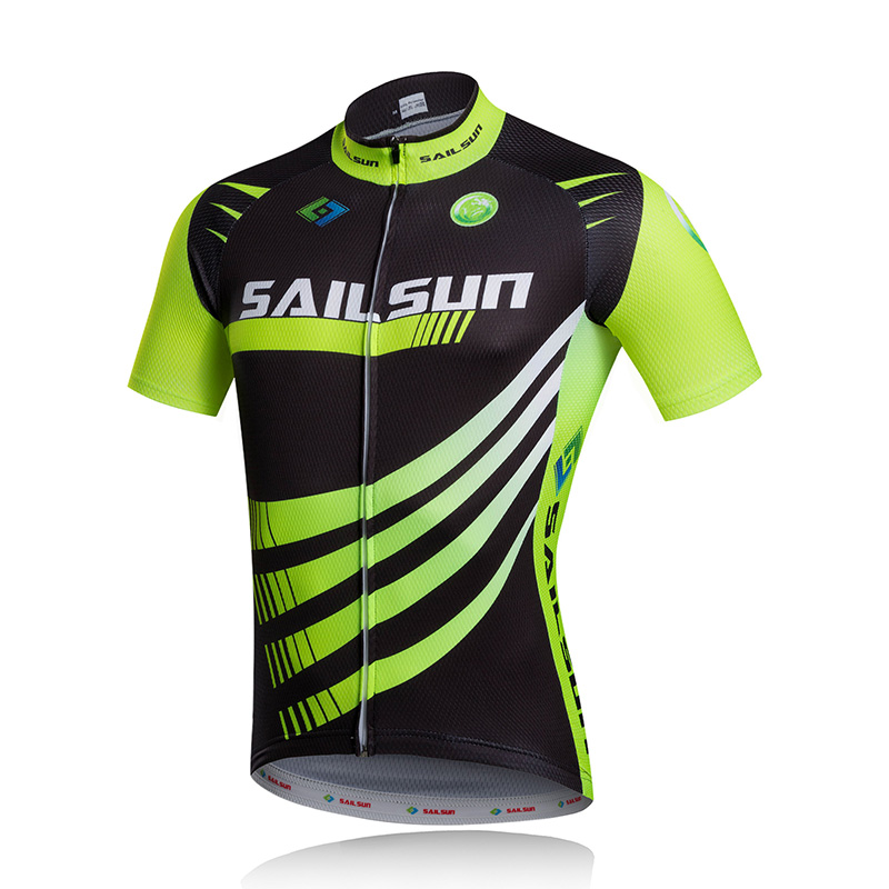 SAILSUN Men Team Ropa Ciclismo Riding Outfit Bicycle Wear Cycling Jersey  Bike Short Sleeve Bike Tops Breathable Cycling Clothing-in Cycling Jerseys  from ... f68a531eb